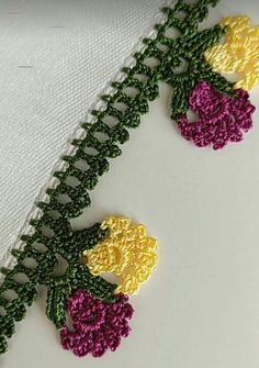 Crochet Lace Edging, Crochet Doilies, Knit Crochet, Knitting Videos, Loom Knitting, Lace Design, Baby Knitting Patterns, Beautiful Crochet, Hand Embroidery