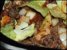 Lazy Cabbage Rolls - crockpot