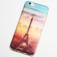 Eiffel Tower - Paris, France Morning Sunrise iPhone 6 / iPhone 6S Soft Case