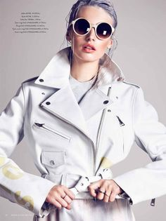 Mona Johannesson Stars in Costumes February 2013 Cover Story by Mikael Schulz