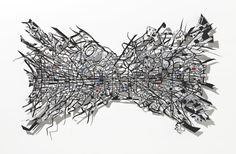 Heidi Whitman's Invisible Cities consists of a series of floating paper cutouts mapping real, ancient, and fictitious city routes and passages. Seeing the outlines of cities from this perspective makes you question how our cities are built and how truly organic and ever-changing the concrete
