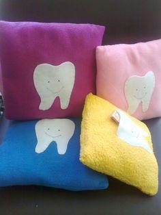 cojines decorativos para el ratón de los dientes