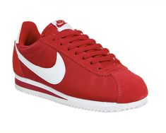 Buy Classic Gym Red White Nike Cortez Nylon from OFFICE.co.uk.