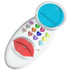 Funny invention: the kiss phone with which you can send kisses!
