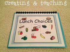 creating & teaching - good idea for students with autism.