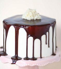 Mom's bday cake almond joy