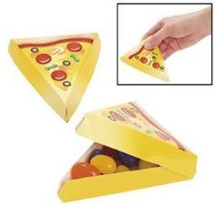 Pizza party favors