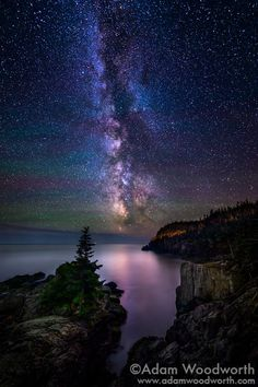 Gorgeous milky way from Adam Woodworth!