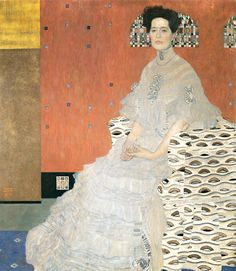 https://flic.kr/p/bq8n8y | Gustav Klimt: Portrait of Fritza Riedler | Oil painting.  Finally found a good larger resolution image of this painting.