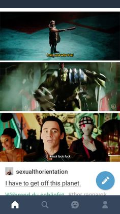 Loki has horrible flashbacks of the Stark Tower in New York and his little encounter with Hulk