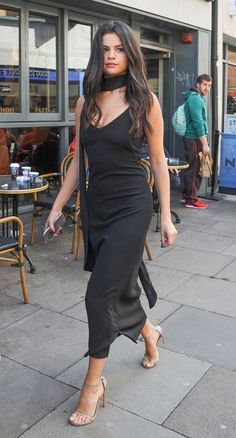 London Calling from Selena Gomez's Street Style  The singer is spotted out and about in London.