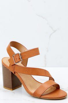 Flirty Tan Heels - Tan Heels - Heels - $34 – Red Dress Boutique