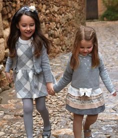 Mayoral beautiful clothes for your little girls this Christmas call Vanilla Junior 01992 578592 Fashion Kids, Little Girl Fashion, Toddler Fashion, Toddler Outfits, Outfits Niños, Fashion Outfits, Cool Kids Clothes, Little Fashionista, Winter Dresses