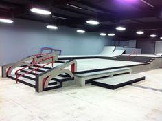 Skatepark Design and Construction Portfolio - California Skateparks Backyard Skatepark, Travel Competitions, Skateboard Ramps, Skate Ramp, Inline Skating, Bike Parking, Building Design, Mountain Biking, Swimming Pools