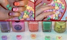 sweatheart nails