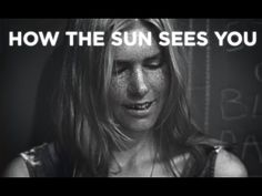 This is a great video that shows how great sunscreen can be to prevent skin damage from UV rays. It also shows that glass (sunglasses) can block the UV rays so they are also great to protect you from getting burnt.