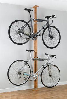 Bike storage racks, bike lifts, family bicycle racks, canoe & kayak hoists, golf bag storage, and more sports storage solutions! - MyGearUp.com - 20095 - Oak FTC