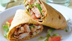 buffalo chicken wrap Calculated with 4 oz. Costco Rotisserie Chicken Breast, 2 T Bolt House Yogurt Ranch Dressing, 80 calorie low carb wheat tortilla, and no Cheese. Buffalo Chicken Wraps, Costco Rotisserie Chicken, Yogurt Ranch Dressing, Super Bowl Essen, Wrap Recipes, Easy Recipes, Wrap Sandwiches, Kids Meals, Snacks Kids