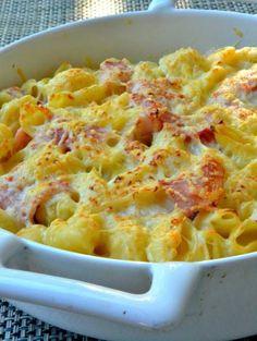 750 grammes vous propose cette recette de cuisine : Gratin de pâtes au jambon. Recette notée 3.7/5 par 440 votants et 89 commentaires.