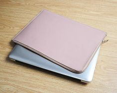 Pink Leather Laptop Sleeve Laptop Bag Leather Dell Latitude
