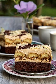 Romanian Desserts, Romanian Food, Cake Recipes, Dessert Recipes, Kolaci I Torte, Something Sweet, Cake Cookies, Easy Desserts, Food To Make