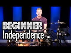 Beginner Drumming Independence - Drum Lesson (DRUMEO) - YouTube
