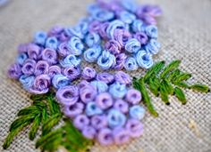 Patina Moon: The Hand Embroidery Blues So many beautiful flowers! Great inspiration!!!