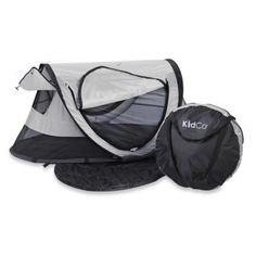 Portable Travel Bed Midnight Home Outdoor Camping Kids Grey Unisex Hiking Toddler Nap, Toddler Travel, Shade Tent, Portable Bed, Bed Tent, Pea Pods, Camping With Kids, Camping Ideas, Traveling With Baby