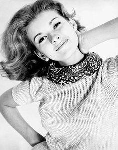 Martha Stewart as young model