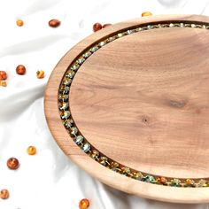 $98000 · Luxury Serving Platters JOHARA 🎁💎💎💎 Inspired by nature, Crafted from exclusive materials, Created to impress. Luxury serving platters Johara are beautifully handcrafted from premium quality Walnut wood with fine detail and smooth finish. Decorated with radiant cut crystals, they offer a truly Unique dining experience. Supplied in Luxury wooden Gift box with Certificate #luxurygifts #luxurydinnerware #luxuryplatter #luxuryservingplatter #giftsforrich #elitegifts Wooden Gift Boxes, Wooden Gifts, Radiant Cut, Everyday Items, Walnut Wood, Serving Platters, Luxury Gifts, Crystals And Gemstones, Certificate