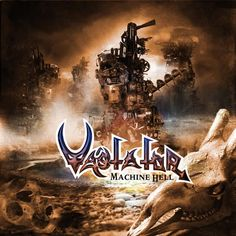 Vastator (CHI) - Machine Hell - Un heavy/thrash un po' Maiden, e con un bel basso [5]