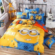 Minion Bedding Set Twin, Queen and King Size (Twin) E Bedding Sets http://www.amazon.com/dp/B00XA3LD5K/ref=cm_sw_r_pi_dp_7S.vwb0MPJGY3