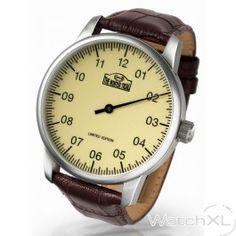 Lenzers LEW201WT Winter Trial Einzeiger watch limited edition