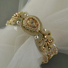 sutasz,ślub,biżuteria ślubna,złoty - Bransoletki - Biżuteria w ArsNeo