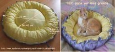 como cocer cama para gato