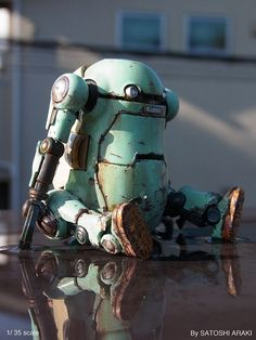 Робот мусорная банка