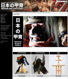 Antique Japanese Samurai Armour Sales and Restoration Services, UK based. Welcome to Nihon-No-Katchu, which translates as Armour Of Japan.  The site is owned and operated by me, Dave Thatcher.  For the past nine years I have been studying the art of Japanese Samurai Armour restoration.  I now am able to offer my services on a commercial basis, hence the implementation of this website. http://www.nihon-no-katchu.com/
