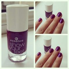 Although it's a toe nail polish it's still perfect for hands too