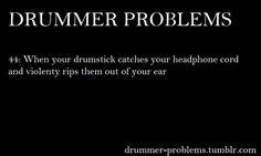 Drummer Problems
