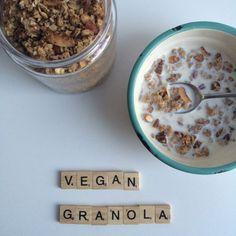 Vegan granola http://wateetjedanwel.nl/vegan-granola/