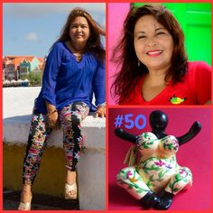 "#50 Carmen Gutierez de la Hos ""I am painting Chichi®s since 2013. I am part of the Serena's art Factory creative hands team and my job is to keep the factory spotless.I am a christian woman and I believe that my inspiration comes from God. Flowers, landscapes, fruits…I love to paint it all."" To find out more about this painter visit our website to read the whole interview: www.chichi-curacao.com  #ChichiCuracao #Serena'sArtFactory #handmade #ArtFromTheHeart"