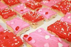 #Valentine #SugarCookie #bars