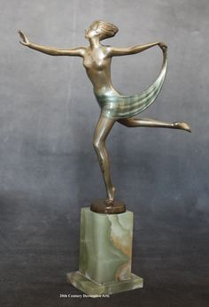 An Art Deco bronze by Josef Lorenzl, circa 1930.
