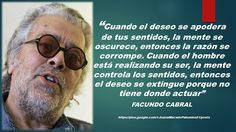 JUANA MACEDO  Facundo Cabral, Biblia, Frases y Reflexiones: Cuando el deseo...