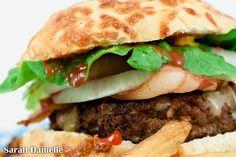 Amazing Homemade Burger