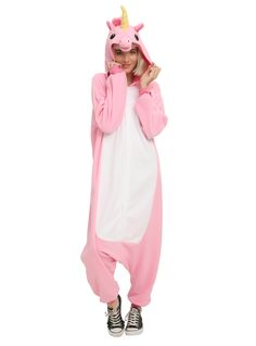 Sweet dreams, my lil' unicorn. Pijama Unicorn, Outfits For Teens, Cool Outfits, Unicorn Fashion, Guys And Girls, Hot Topic, Onesies, Pajamas, Pink