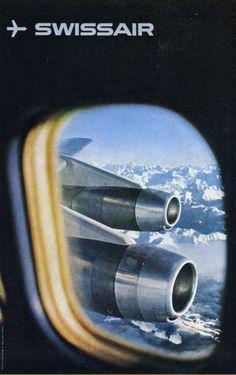 Swissair poster.