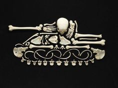 Francois Robert has created a series of powerful artworks made out of real human bones to remind people about the consequences of violence. Human Bones Used to Make Art Human Skeleton, Skeleton Art, Creative Advertising, Advertising Ideas, Print Advertising, Art Sinistre, Gunther Von Hagens, Illustration Arte, Impressive Image