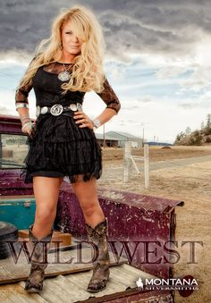 ❤ Cowgirls Country Fashion It's a wild west out there, and we know how to win it - with hard work, perseverance and a tough attitude. These old western styles for cowboys and cowgirls are perfect for wearing the West Your Way Country Girl Outfits, Country Girl Style, Country Fashion, Country Chic, Country Girls, My Style, Country Girl Clothes, Dresses With Cowboy Boots, Cowgirl Outfits