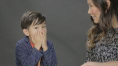 Watch These Parents Talk to Their Kids About Sex for the First Time So many awkward metaphors. Parenting Humor, Kids And Parenting, Mcdonalds, Teaching Kids, Kids Learning, First Time Video, Kids Kiss, Birds And The Bees, Photoshop